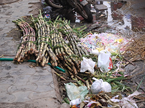 Making Sugar Cane Juice: Part 1 [Chennai, India]