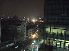 Night view from the hotel in Tehran (Cee) Tags: tehran iew november09 iran09