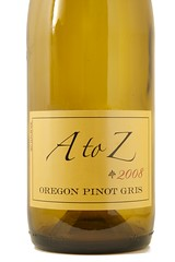 2008 A to Z Pinot Gris