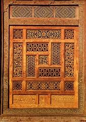 Islamic art (ali eminov) Tags: art islamicart islamicarchitectureinpakistan mausoleums mausoleumofruknialam screens woodenscreens multan pakistan books booktitles authors ahmadnabikhan