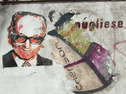 BsAs stencil art Pugliese by Simba tango, on Flickr