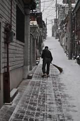 Escombra neu amb xancletes