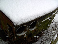 Blind Eyes (Davydutchy) Tags: winter snow netherlands december sneeuw 2009 friesland tatra fryslân 613 langweer langwar snie boornzwaag boarnsweach