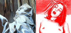 montaje extasis (manuelmorenate) Tags: santa woman girl sex nude mujer pretty comic arte orgasm porno sexo porn teresa montaje portfolio dibujo guapa diseño orgasmo pintura ilustracion fotomontaje dossier composicion desnude contraposicion