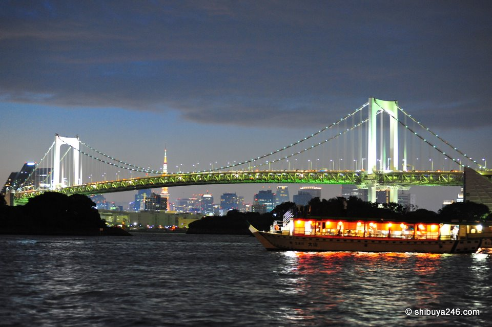 Rainbow Bridge from Odaiba