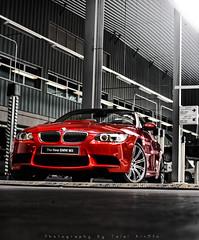 (Talal Al-Mtn) Tags: blue red car sport canon automobile shot automotive rover automatic bmw 10s re m3 rims 3s twinturbo v8 kuwaitcity q8 kwt bmwm3 stateofkuwait 450d canon450d lm10 bmw300 inkuwait samaka~q8 talalalmtn  bytalalalmtn photographybytalalalmtn dedicatetosamaka~q8