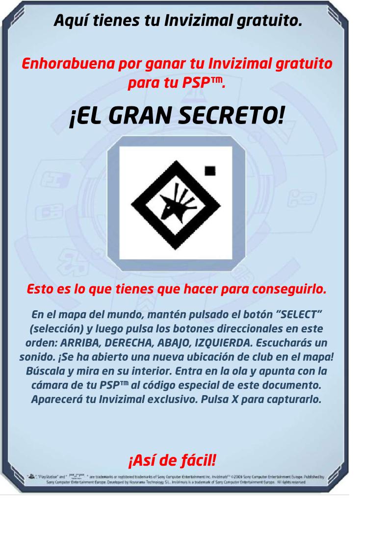 Plantillas especiales en el foro Invizimals de PSP  20100108 18