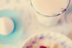 Breakfast ( n e l i a) Tags: morning light food breakfast healthy tea egg muesli