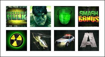 free Incredible Hulk slot game symbols