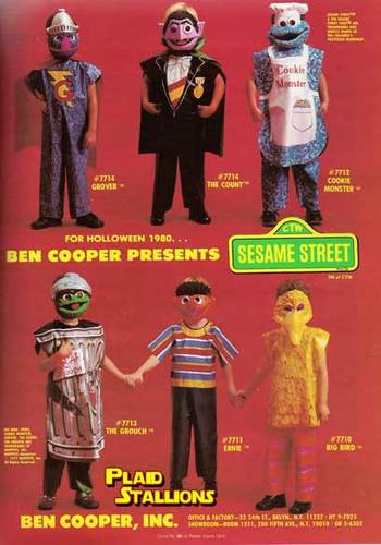 1980 Halloween Costumes