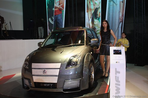 Customized Maruti Suzuki Swift - Front View