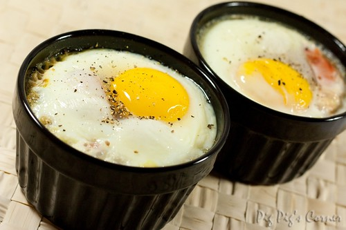 baked eggs with anchovy soldiers 07