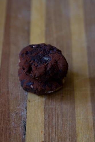 Cocoa Tahini Cookies