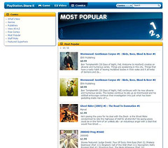 Wormwood is #1 and #2 on the US PSP store