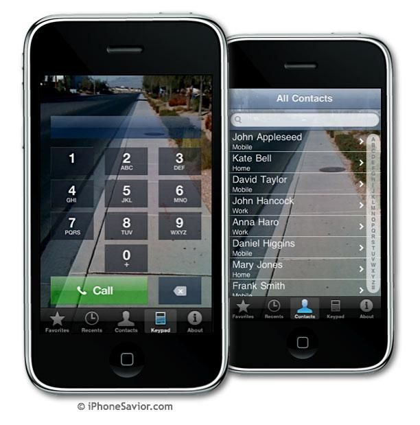 Dial n Walk iPhone App