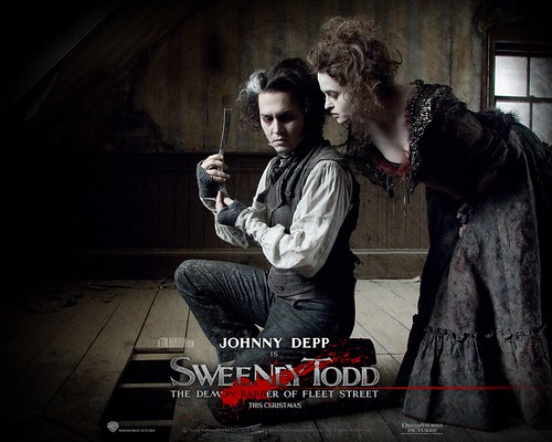 Sweeney Todd movie poster 07