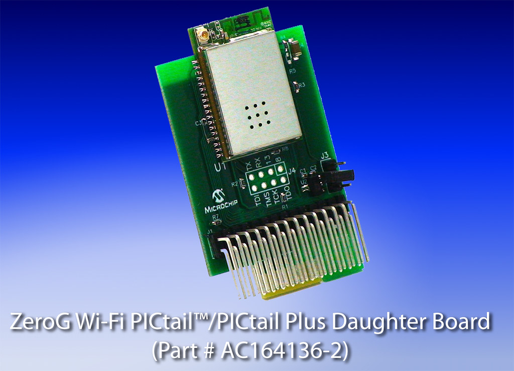 ZeroG Wi-Fi PICtail PICtail Plus Daughter Board