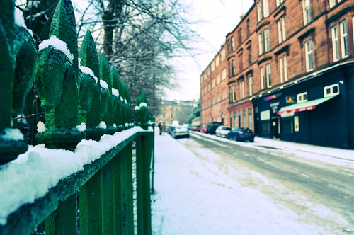 Glasgow Snow Walk 2010
