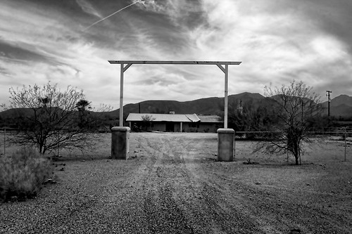 Abandoned Ranch, West of Stansfield, AZ by Wizwow.