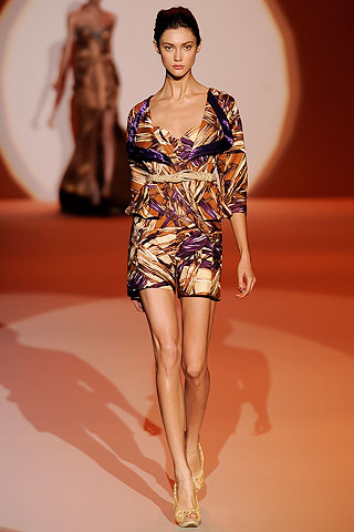 Carolina Herrera Spring 2010 Abstract Patterns