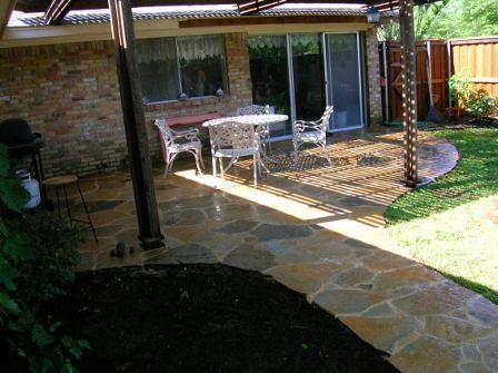 Patios landscape designer