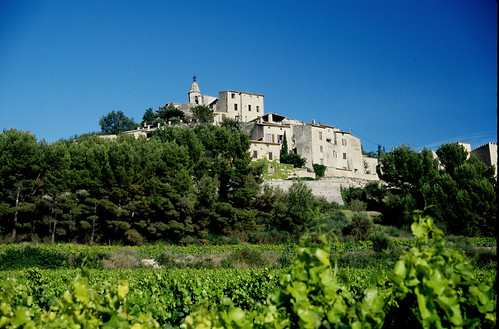 The beautifull hilltop village of Crillon le Brave in Provence. Photo: Barry Peters