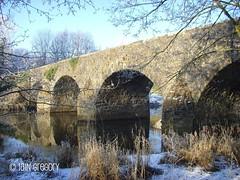 Original Shaw's Bridge (ig_613) Tags: park bridge ireland winter irish stone river competition belfast structure northern 2009 regional shaws ulster beeches lagan belvoir demesne minnowburn