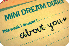 I dreamt about you  (asturian-dreams) Tags: love handwriting typography this dream week