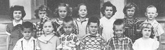 Students of the Kindergargen of St John School in Seward, Nebraska, in 1952