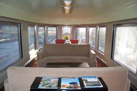 Private Rail Car - Hickory Creek, lounge