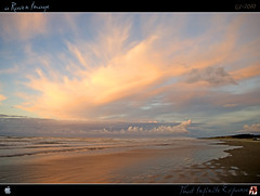 That Infinite Expanse (tomraven) Tags: sunset sea sky sun beach clouds surf horizon distance infinite jan18 expanse kapiticoast otakibeach justclouds mywinners artofimages tomraven bestcapturesaoi aravenimage q12010