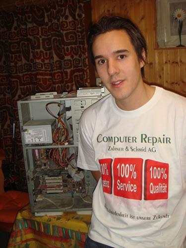 Computer Repair T-Shirt