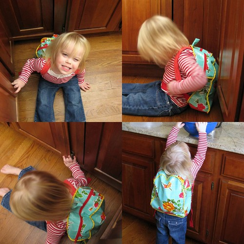 Toddler Backpack - collage