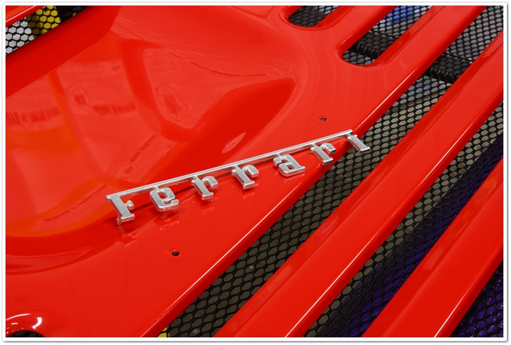Ferrari 355 GTS Ferarri badge removed