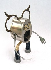 Egglena 471 - Found Object Robot Assemblage Sculpture by Brian Marshall (adopt-a-bot) Tags: show old fiction red sculpture anime art cup kitchen goofy monster collage metal museum trash vintage movie fun toy found toys design robot junk aluminum funny artist comic gallery technology geek tech transformer recycled handmade folk outsider antique assemblage object space brian alien cartoon craft fork can science retro marshall robots gift future present blender fi meter unusual etsy recycle creature brass robotics sculptures scoop futuristic tester sci appliances volt reuse reduce reused