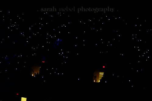 . stary night, or cell phones at concert .