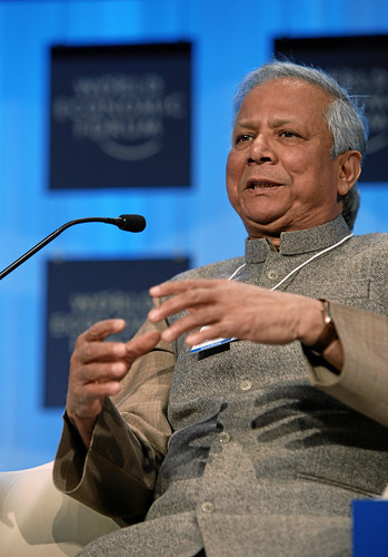 Muhammad Yunus - World Economic Forum Annual Meeting Davos 2010 [Photo by World Economic Forum] (CC BY-SA 3.0)