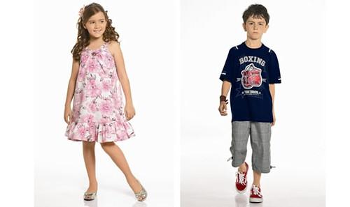 roupas para crianças