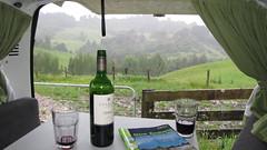 Drinking Vino in Bazils
