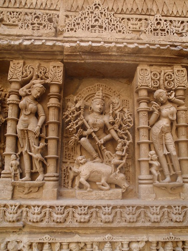 Detail from Vadtal Vav, Gujarat