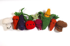 everybody (callie callie jump jump) Tags: vegetables miniature vermont faces handmade crochet plush yarn etsy fiber amigurumi