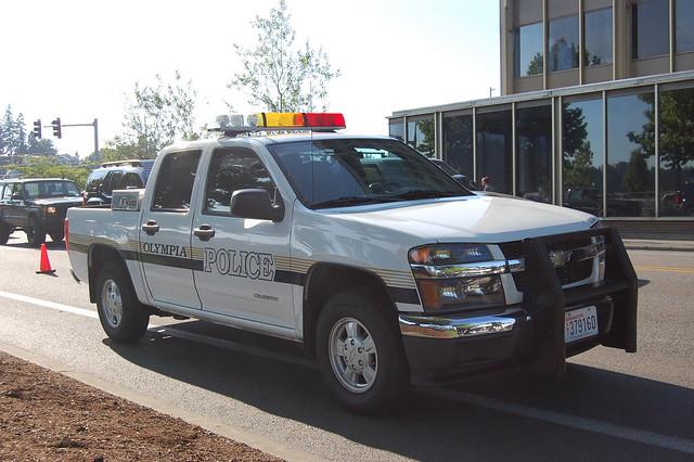 washington police olympia chevycolorado