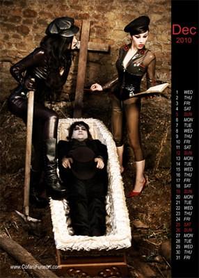 2010年老外推出的10個古怪日曆
