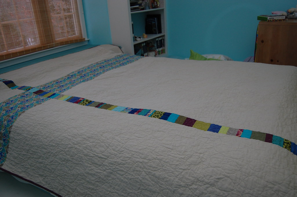 G&H's Wedding Quilt back