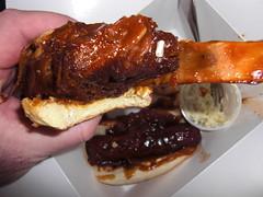 Saucy's Rib Sandwich