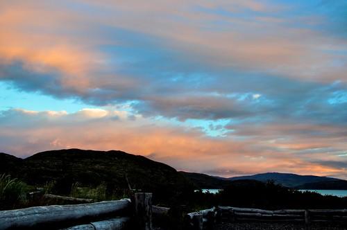 Chilean Patagonia Sunset