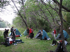 Campamento a orillas del Turco