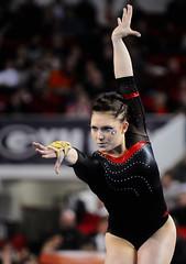 Kentucky Georgia Gymnastics (Kelly M. Lambert) Tags: usa college dogs ga georgia university kentucky athens gymnast gymnastics sec ncaa gym wildcats