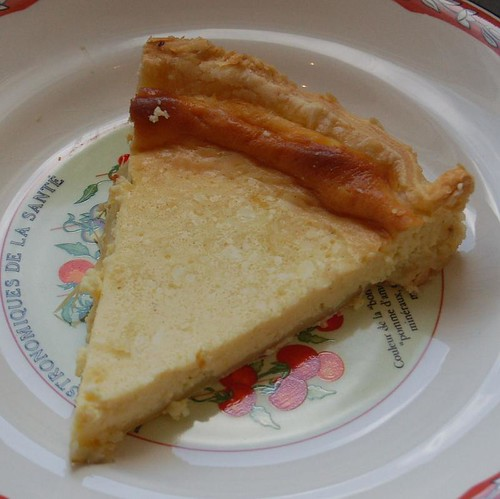 cream cheese and honey pie