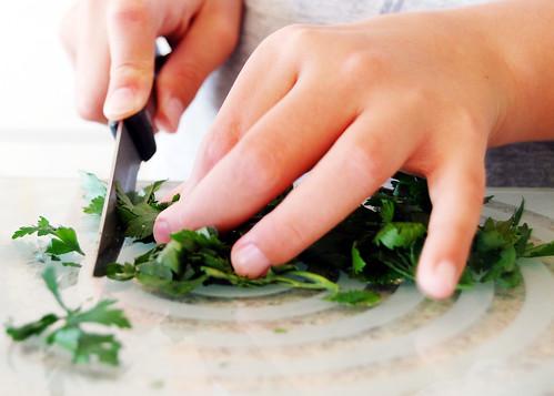 flat leafed parsley